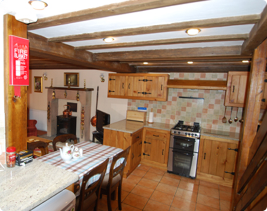 Self Catering Accommodation - Peak District - Kitchen